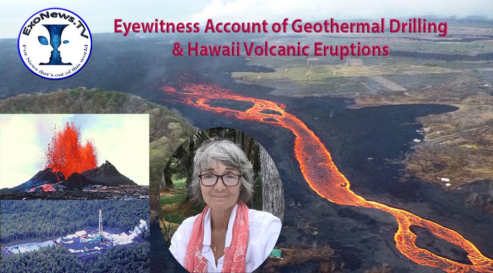 Resultado de imagem para Eyewitness Account of Geothermal Drilling & Hawaii Volcanic Eruptions