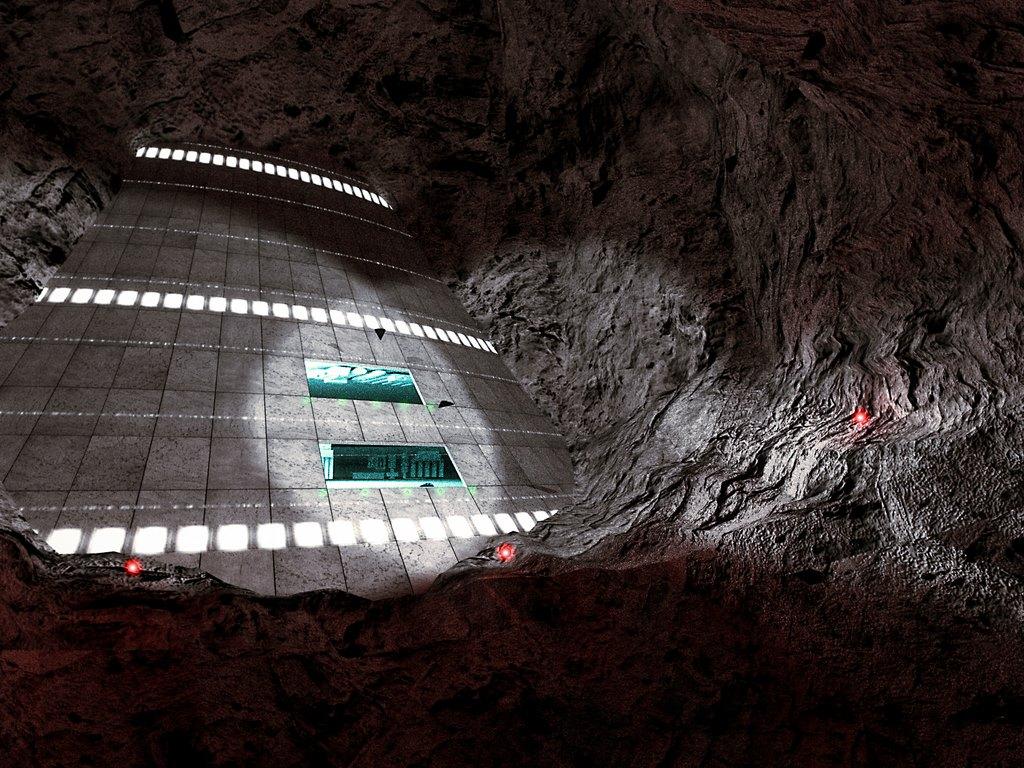 МАЙКЛ САЛЛА 28.08.2018.   Инсайдеры раскрывают подробности секретных космических программ НАСА и ВВС США. LOC-Subterranean-Portion