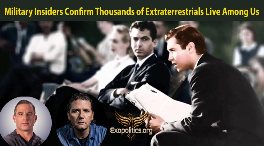 Military Insiders Confirm Thousands of Extraterrestrials Live Among Us