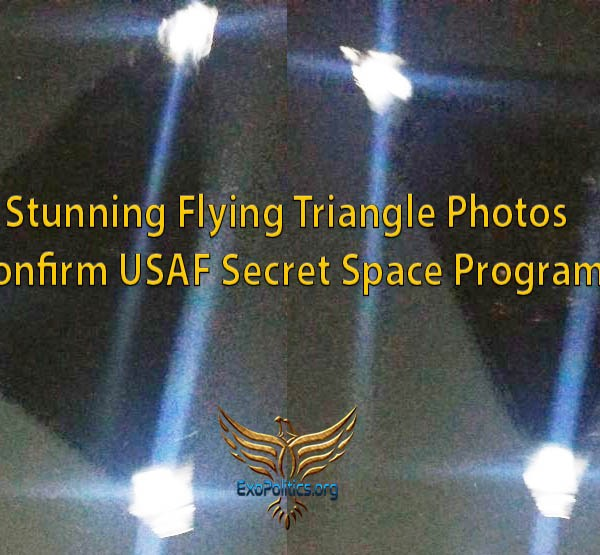 4b8de62b523e Stunning Flying Triangle Photos Confirm USAF Secret Space Program