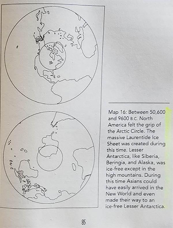 Отчеты Антарктического Ледяного ядра разрешают конкурирующие теории сдвига полюсов  Antarctica-51000-9100-BC
