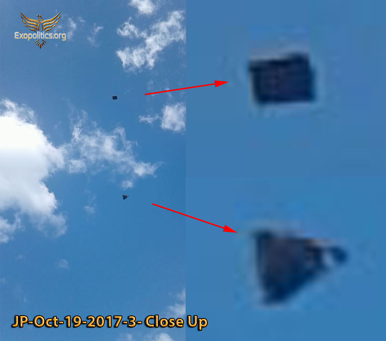 Разрушил ли Летающий прямоугольник Ядерную баллистическую ракету, нацеленную на Гавайи?  JP-3-close-up