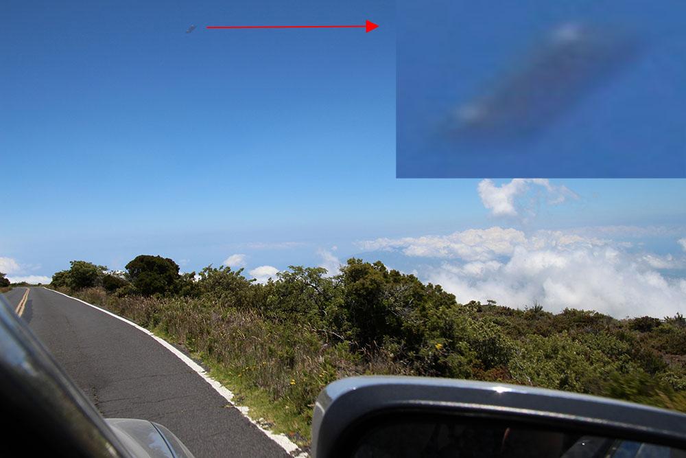 Разрушил ли Летающий прямоугольник Ядерную баллистическую ракету, нацеленную на Гавайи?  Maui-Flying-Rectangle-1000px