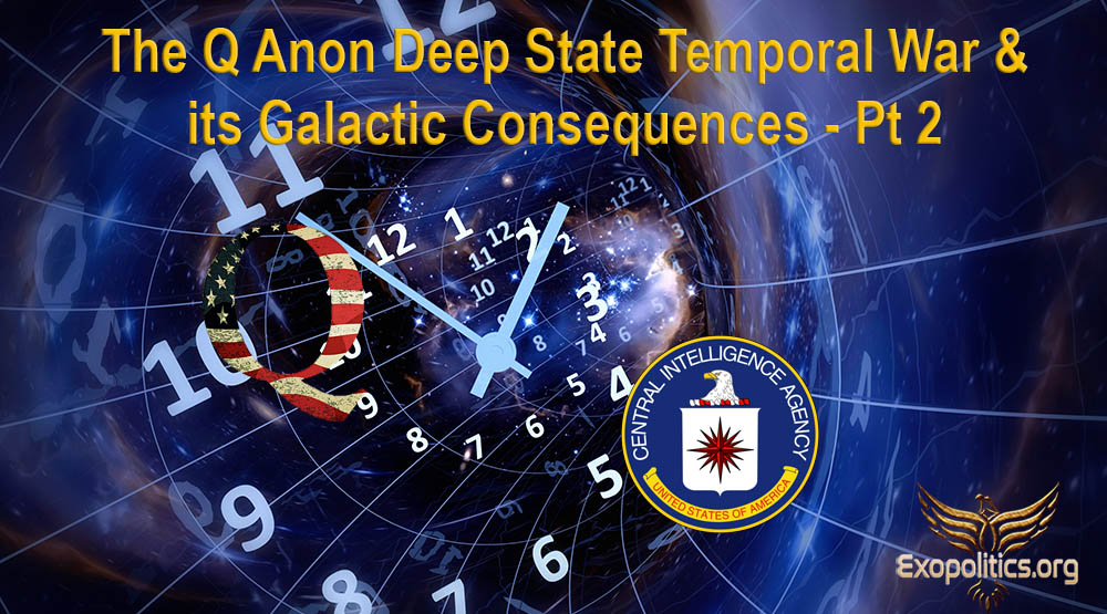 The QAnon Deep State Temporal War & its Galactic Implications