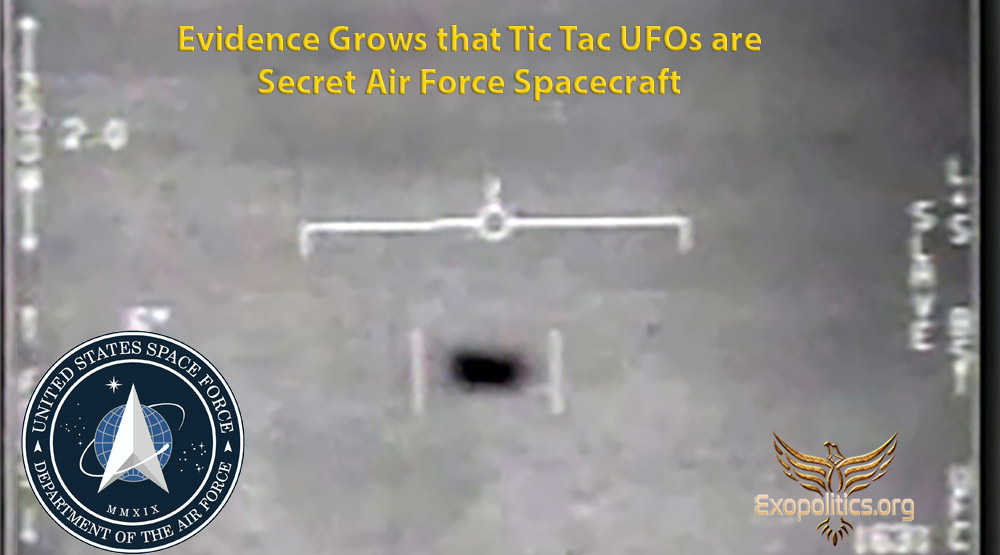 Evidence Grows that Tic Tac UFOs are Secret Air Force Spacecraft