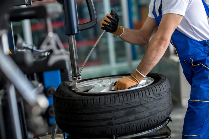 Image result for Wheel Repair Shop istock