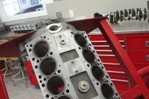 vintage Ferrari engine 365GTC rebuild