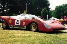 1967 Ferrari 206SP race car
