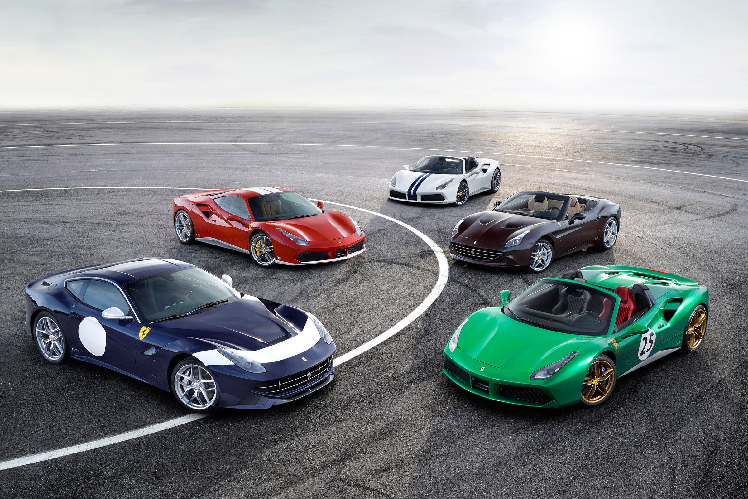 Evolution of Ferrari Design