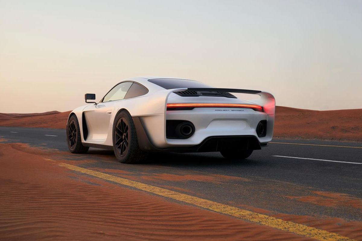 Marsien Porsche 911 Turbo S
