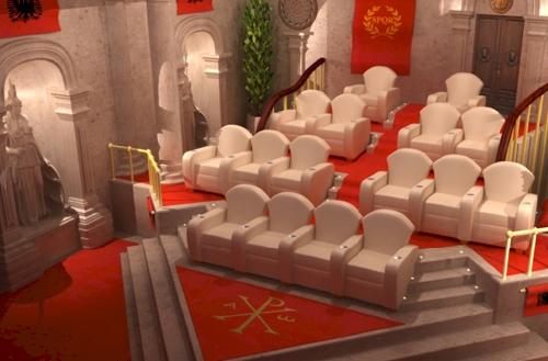Luxury Custom Home Theater Seating