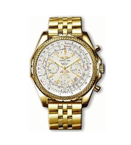 Breitling For Bentley Motors 18k Gold Ref K25362: New Breitling Bentley Motors Men's Solid 18K Gold Watch