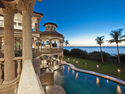 copper kitchen appliances granite estate of the day: $19.9 million oceanfront in ...