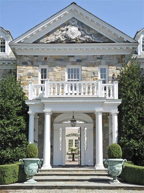 bronze kitchen chandelier cabinets naples estate of the day: $11.9 million stunning stone georgian ...