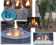 Exotic Flames | Fireplace & Fire Pit Supplies and Accessories