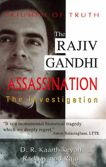 Rajiv Gandhi Assassination Book