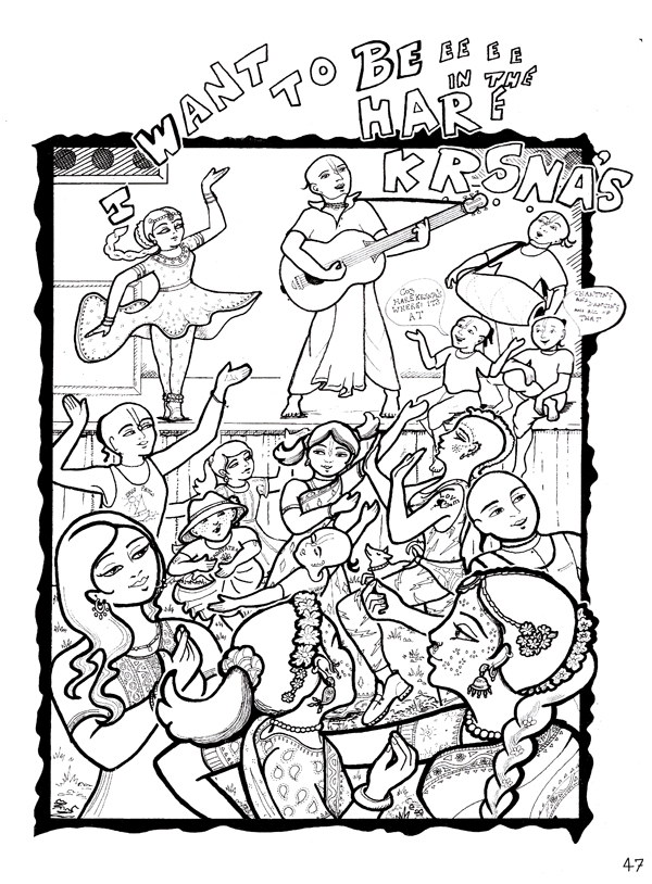 Padayatra Adventure: Diary of a Young Devotee (Colouring