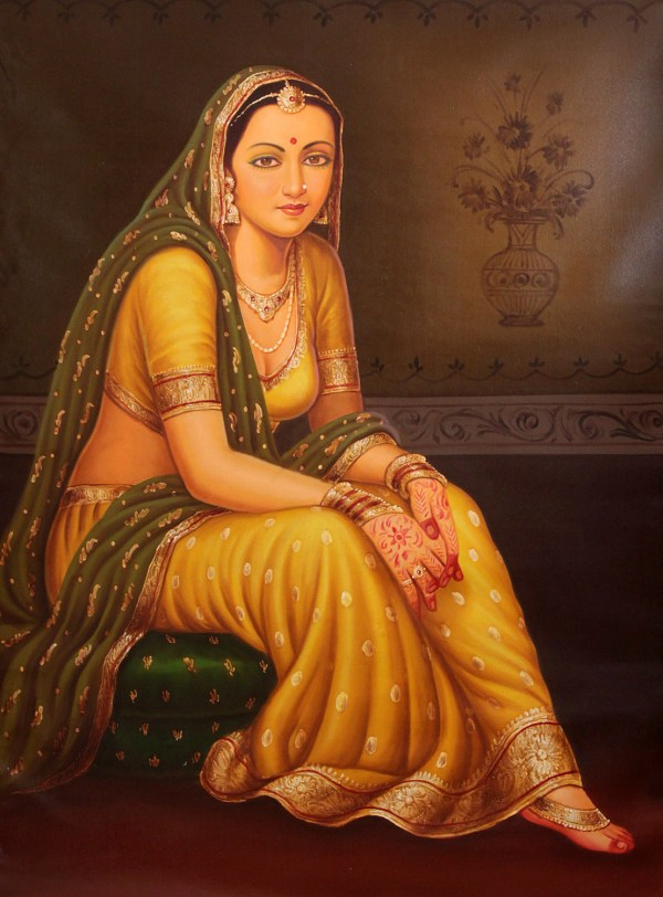 Ancient Indian Women Paintings