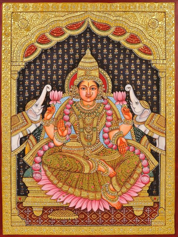 Traditional Painting of Lakshmi