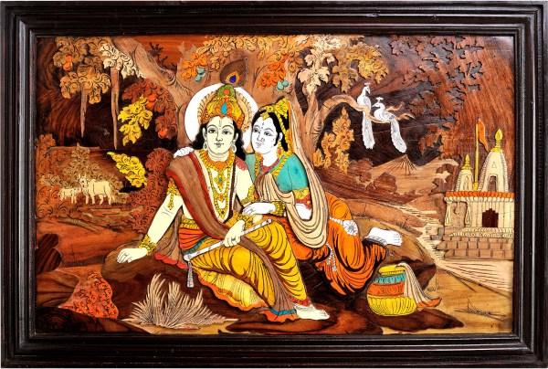 Radha Krishna Paintings Indian Art