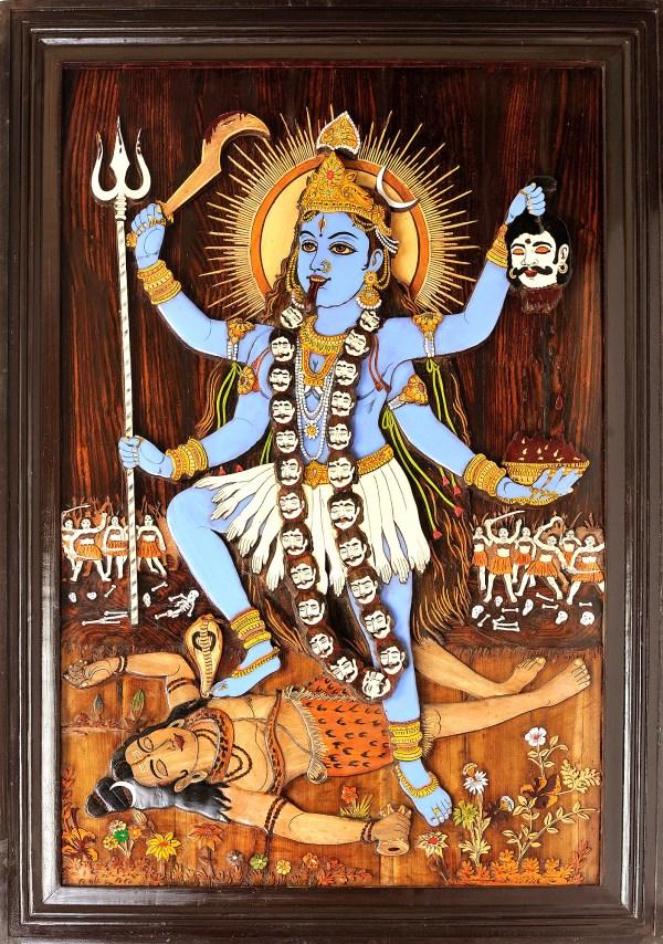 Hindu Goddess Kali Painting