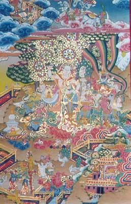 Queen Maya - mother of Gautam Buddha