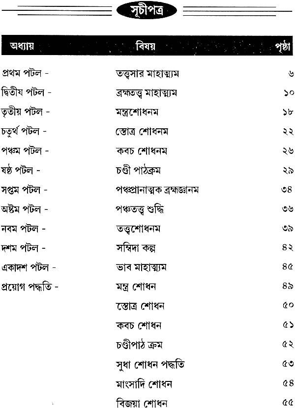 নিগম তত্ত্বসার তন্ত্রম: Nigam Tattva Sara Tantra (Bengali)