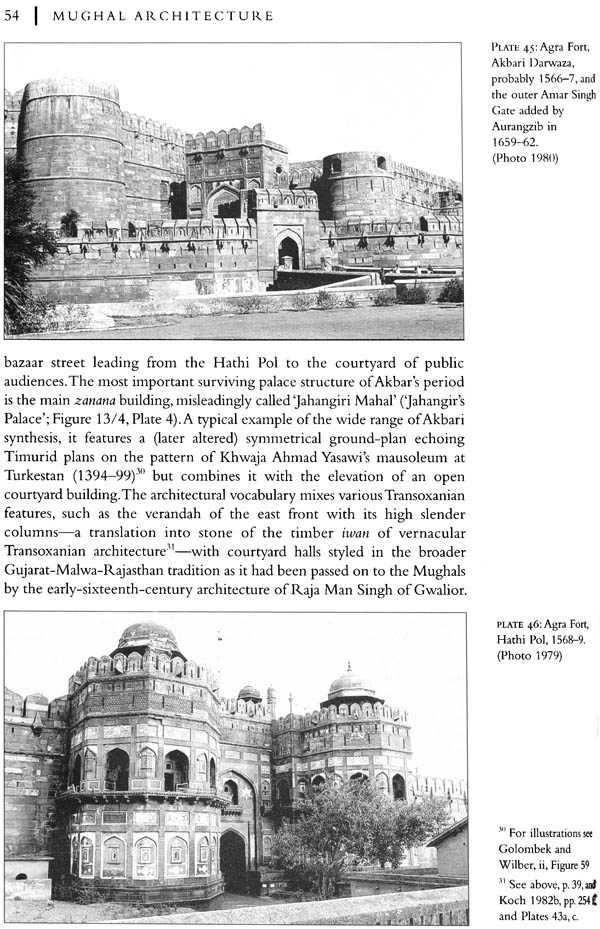 Mughal Architecture (An Outline of its History and