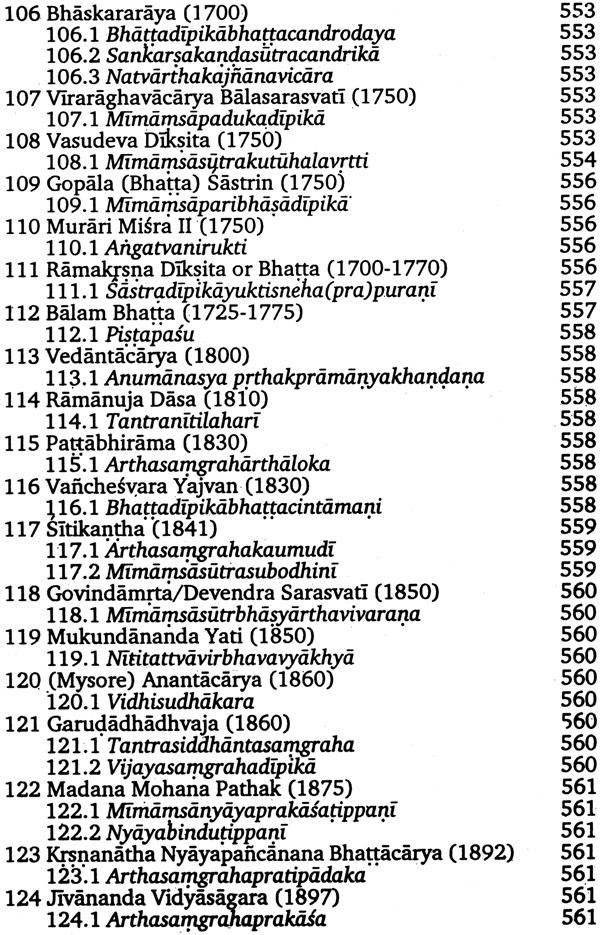 Encyclopedia of Indian Philosophies: Philosophy of Purva