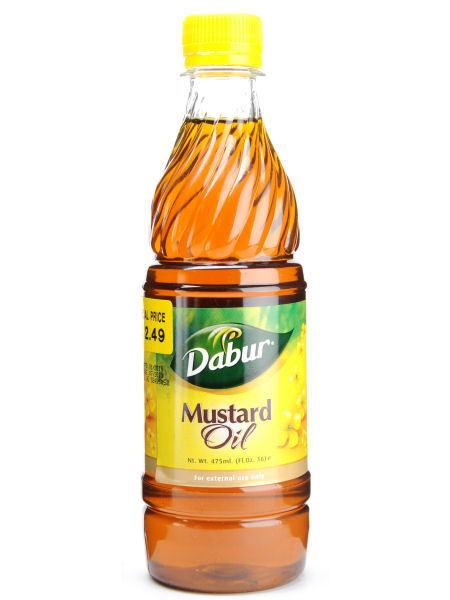 Mustard Oil - Dabur 500ml - Exoticindias