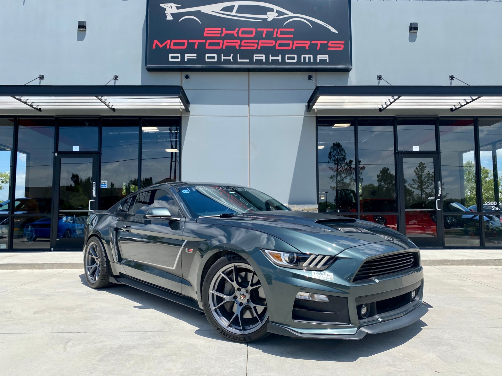 used 2015 ford mustang roush stage 3
