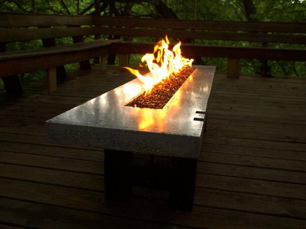 Backyard Fire Glass Amp Landscaping Rocks