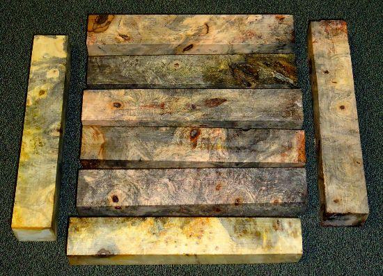 Exotic Burl Wood Blanks