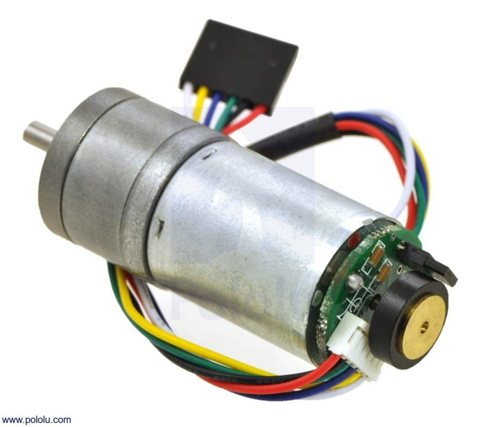 medium resolution of 4 4 1 metal gearmotor 25dx48l mm hp 12v with 48 cpr encoder