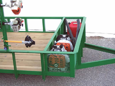 expanded landscape & utility trailers