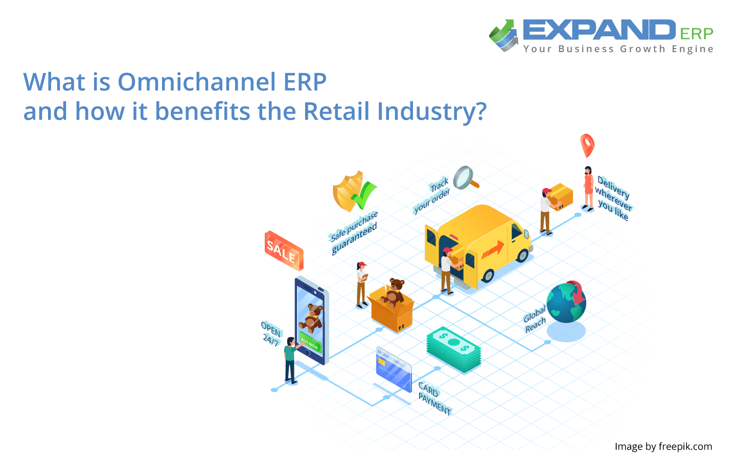 What is Omni channel erp and how it benefits the retail industry