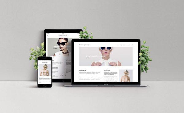 landing page/basic web design services