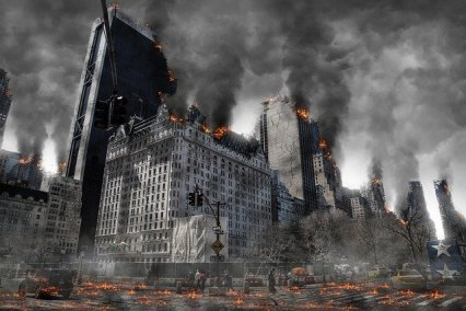 Apocalyptic world. We can choose to not let this happen.