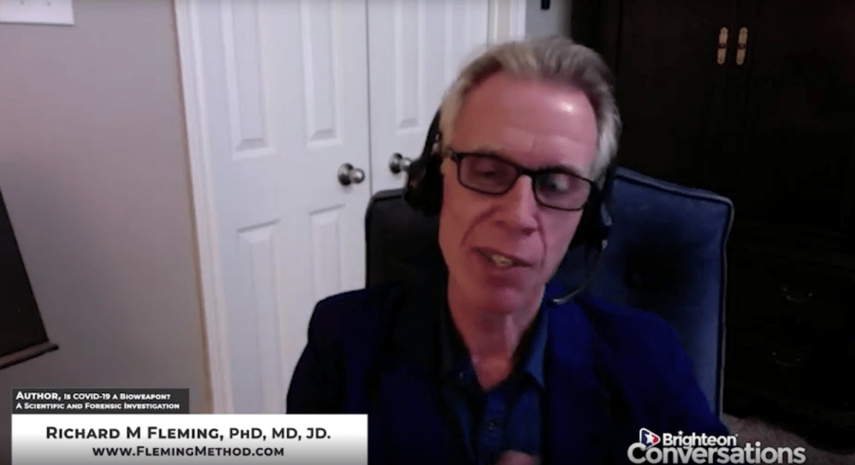 """Dr. Richard Fleming Interview with Mike Adams 
