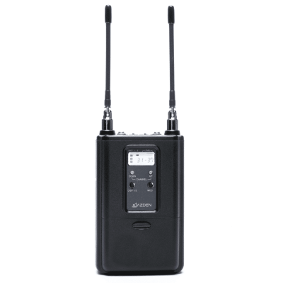 Azden 330UPR UHF Dual-Channel Mount Receiver