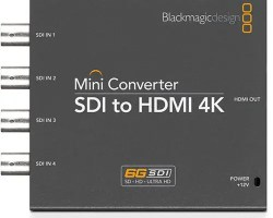 Blackmagic SDI to HDMI 4K Mini Converter