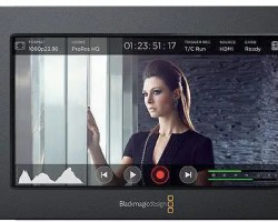 Blackmagic Video Assist 5-inch Portable All in One Professional Monitor and Video Recorder