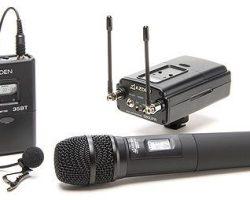 Azden 330LH UHF Dual-Channel Wireless System