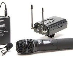 Azden 330LH UHF Dual-Channel Wireless System