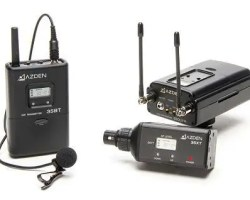 Azden 330LX UHF Dual-Channel Wireless System