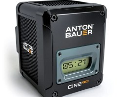 Anton Bauer Cine 90 GM Gold Mount Battery is ideal for digital cinema cameras