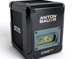 Anton Bauer Cine 90 VM V-Mount Battery ideal for digital cinema cameras