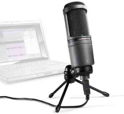 Audio-Technica AT2020 USB+ USB Cardioid Condenser Microphone