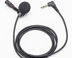 Azden EX-505U Uni-Directional Lapel Microphone with Mini-Jack Output