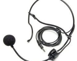 Azden HS-12 Uni-Directional Behind-The-Head Set Microphone